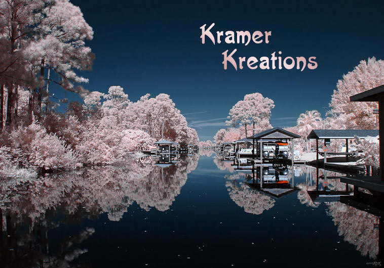Kramer Kreations homepage image - infrared canal